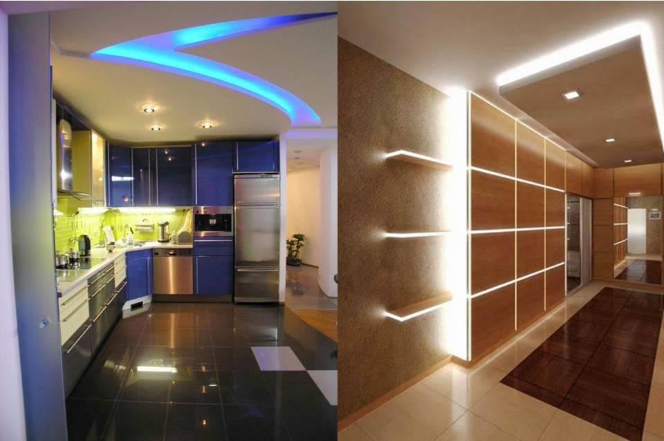 Светодиодная лента для подсветки интерьера