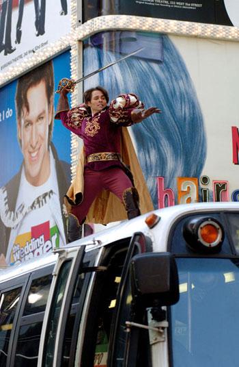 Кадр із фільму 'Зачарована'. Фото: kinopoisk.ru