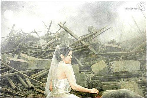 Наречені, які дивом залишилися в живих. Фото з aboluowang.com