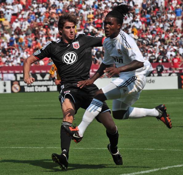 Ді Сі Юнайтед — Реал Мадрід. Фото:NICHOLAS KAMM, Doug Pensinger/Getty Images Sport