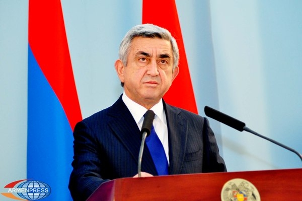 Президент Вірменії Серж Саргсян