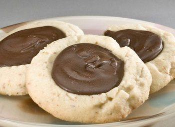 Песочное тесто - домашнее печенье с шоколадом