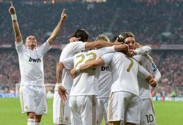 Бавария обыграла Мадридский Реал со счётом 2:1. Фото: CHRISTOF STACHE/AFP/Getty Images