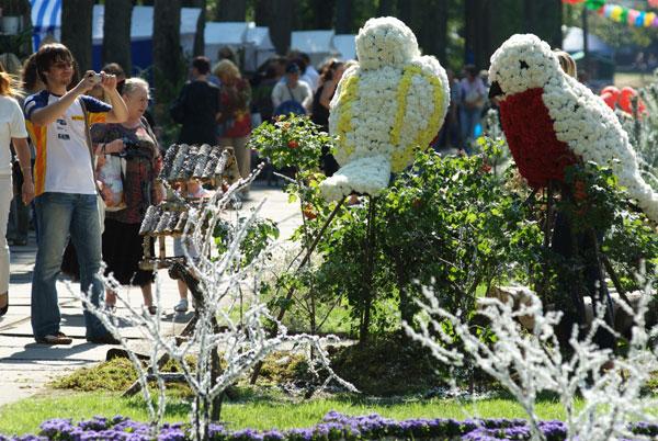 Виставка експозицій квітів проходить у Києві з 5 по 8 вересня 2008 року. Фото: Володимир Бородін/Тhe Epoch Times