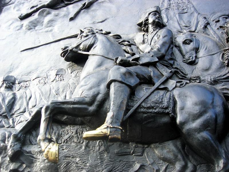 Конный монумент Петру I в образе римского императора, выполненного по модели скульптора Б.К.Растрелли. Фото: Алла Лавриненко/The Epoch Times Украина