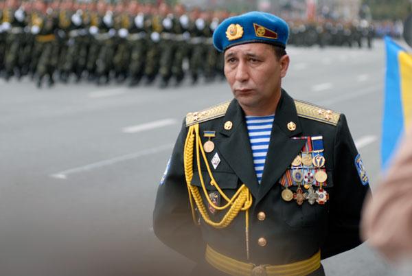 Парад військ з нагоди 18-ї річниці незалежності України пройшов на Хрещатику. Фото: Володимир Бородін / The Epoch Times