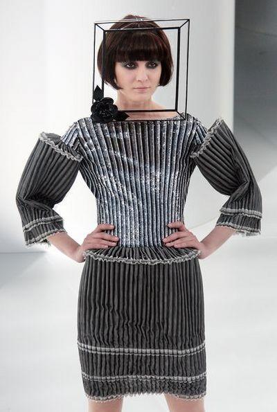 Тиждень високої моди в Парижі: Колекція від Chanel. Фото: AFP