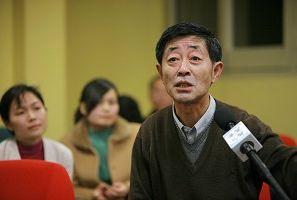 """Демократичний активіст Гао Цзянь: """"Збереження національної культури дуже важливе'. Фото: Чень Мінше/Велика Епоха"""