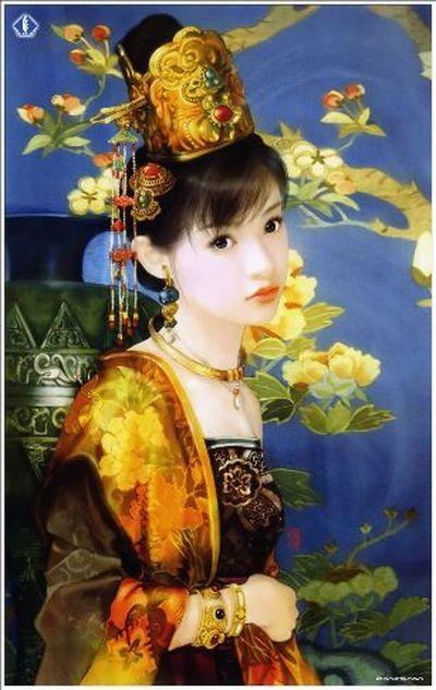 Китайський жіночий костюм періоду династії Хань. Фото із secretchina.com
