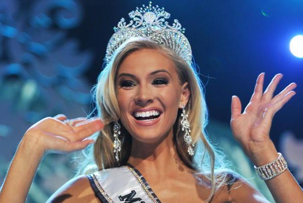 Мисс США 2009 стала 22-летняя Кристен Далтон. Фото: JEWEL SAMAD/AFP/Getty Images