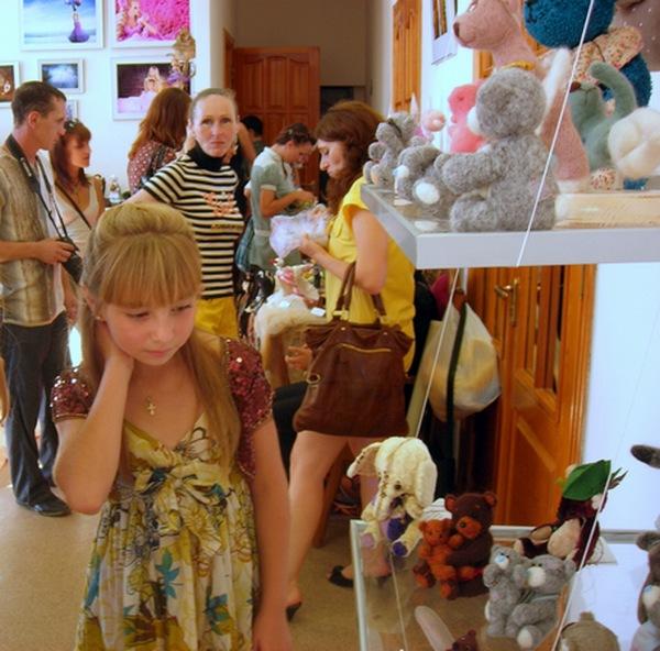 Выставка авторской куклы открылась в Севастополе. Фото: Алла Лавриненко/The Epoch Times Украина