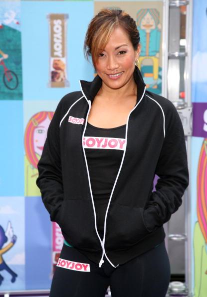 Кері Енн Інаба, танцівниця і ведуча телешоу «Танці з зірками». Фото: Astrid Stawiarz/Getty Images