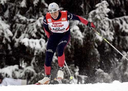 Учасники лижного туру - 'Тур де скі' з Чехії перебралися до Італії і провели в Азіаго змагання в спринті вільним стилем. Фото: Agence Zoom/Getty Images