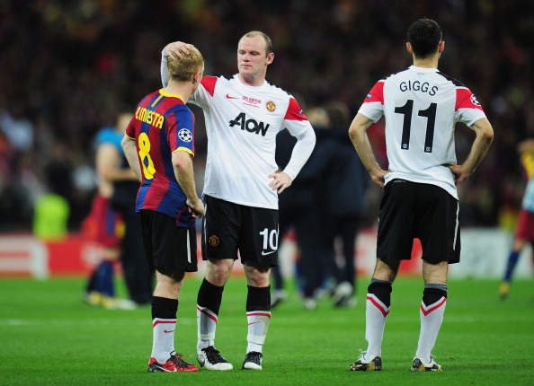 'Барселона' – 'Манчестер Юнайтед' Фото:Shaun Botterill, Clive Mason, Laurence Griffiths /Getty Images Sport