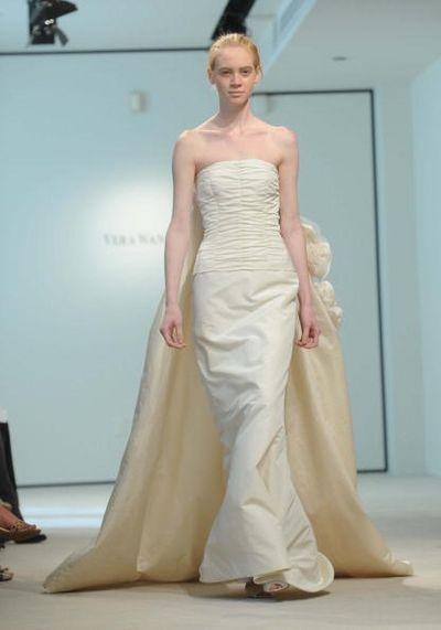 Колекція Bridal «Весна 2008» від Vera Wang. Фото: Brad Barket/Getty Images