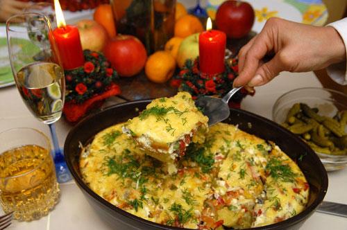 Овощной пай от Стеллы Захаровой. Фото: Владимир Бородин/Великая Епоха