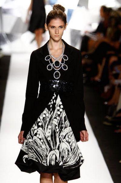 Коллекция от Vera Wang, представленная на неделе моды Mercedes-Benz в Нью-Йорке. Фото: Frazer Harrison/Getty Images