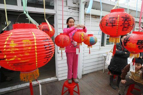 Тайбэй (Тайвань). Мероприятия, посвящённые празднику Юаньсяо. Фото: Центральное агентство новостей