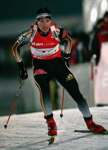 В Оберхофі (Німеччина) в рамках четвертого етапу Кубка світу з біатлону пройшла чоловіча естафета 4х7,5 км. Фото: Christof Koepsel/Bongarts/Getty Images