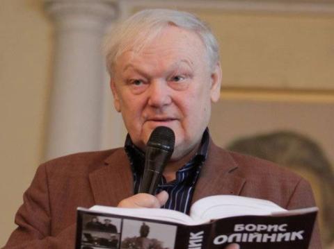 Письменник Борис Олійник висунутий на здобуття Нобелівської премії