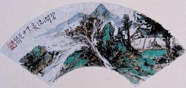 Китайське віяло. Фото: secretchina.com
