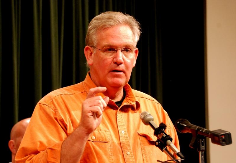 Губернатор штату Міссурі Джей Ніксон. Фото: MIRA OBERMAN/AFP/Getty Images