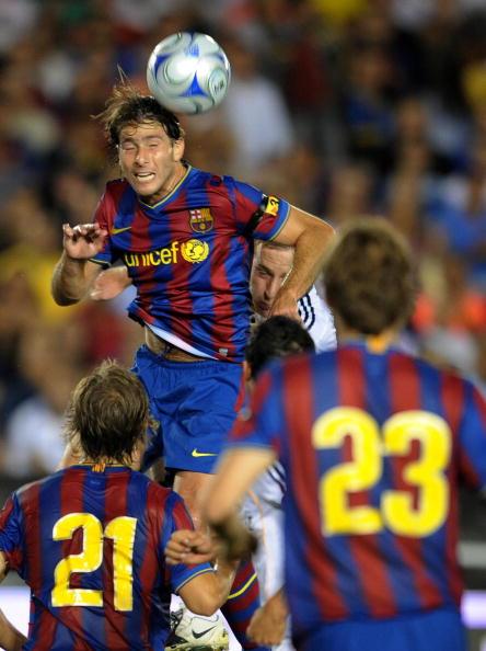 Лос-Анджелес Гелексі - Барселона фото:GABRIEL BOUYS, MARK RALSTON /Getty Images Sport