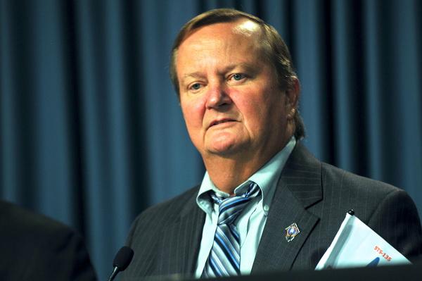 Майкл Лейнбах, керівник служби запуску шатлів. Фото: Roberto Gonzalez/Getty Images