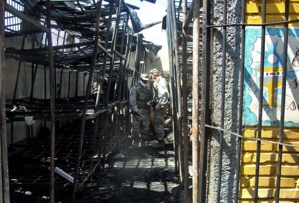 В гондурасской тюрьме в ходе пожара погибло 377 человек