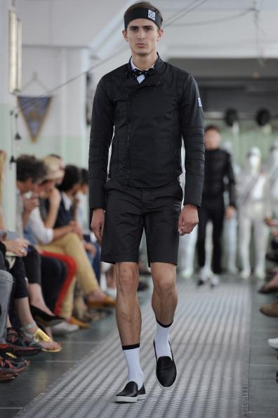 Міланський тиждень моди представляє екіпіровку фехтувальника від Moncler Gamme Bleu.Фото: Фото: Tullio M. Puglia/Getty Images