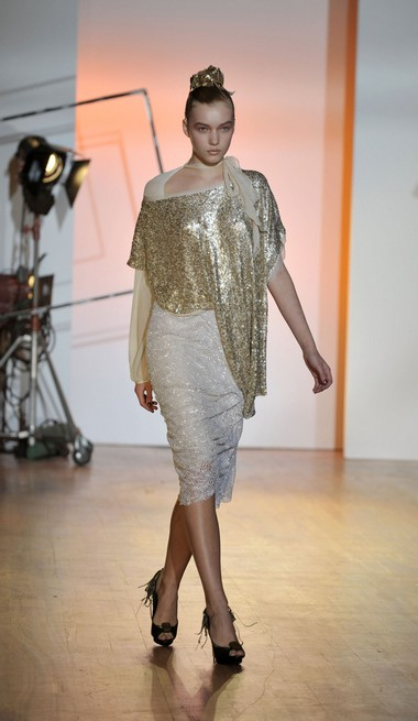 Нова колекція Toni Maticevski сезону осінь-зима на Тижні моди Mercedes-benz в Нью-Йорку. Фото: Getty Imges