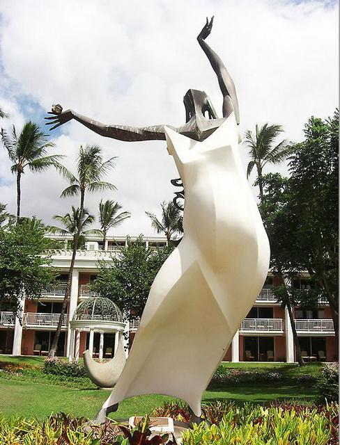Скульптура 'В небеса'. Фото: Шила О`Коннор/The Epoch Times