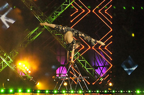 Найгнучкіший хлопець світу 2007 року Олексій Голобородько з Росії. Фото: Вікторія Тюріна/Велика Епоха