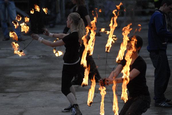 Третий Киевский фестиваль огня 6-7 июня 2009 года в Киеве. Фото: Владимир Бородин/The Epoch Times