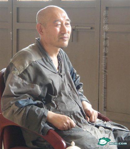 Настоятель монастыря Дабэй. Фото с сайта epochtimes.com