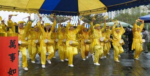 Танец с китайскими барабанами. Фото: Тан Бин/Великая Эпоха