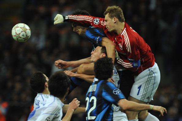 'Интер' – 'Шальке' Фото: Valerio Pennicino, OLIVIER MORIN /Getty Images Sport