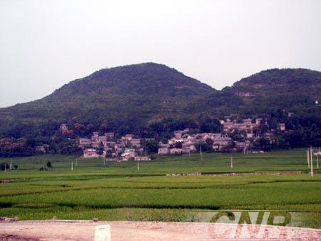 Село Шитоу розташоване в мальовничому місці. Фото: cnr.cn