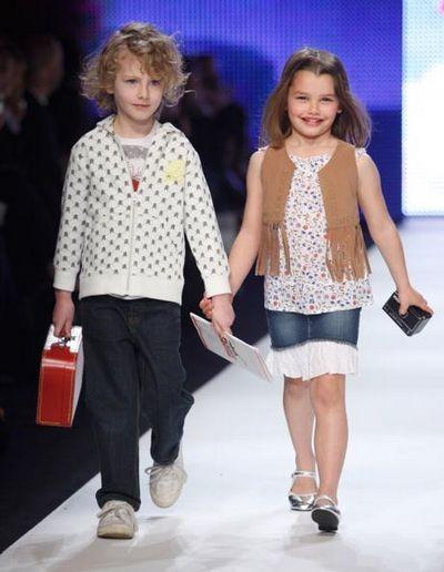 Показ дитячої моди Rosemount в Сіднеї. Фото: Sergio Dionisio/Getty Images