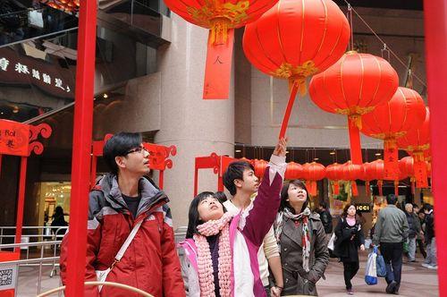 Гонконг. Мероприятия, посвящённые празднику Юаньсяо. Фото: Центральное агентство новостей