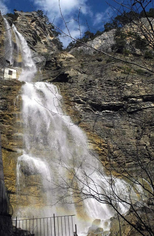 Водопад Учан-Су. Фото: Алла Лавриненко/EpochTimes.com.ua