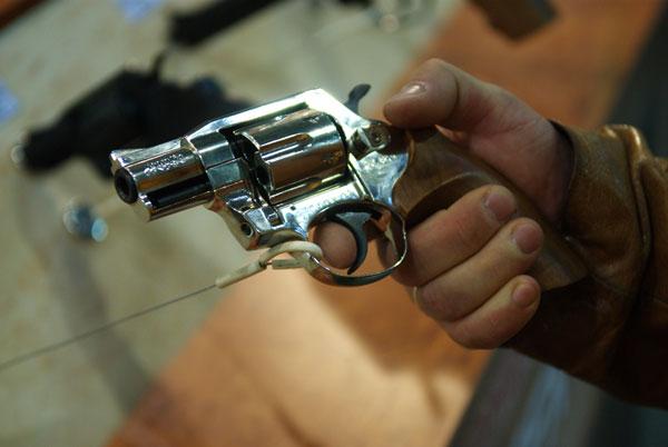 Виставка «Зброя і безпека 2008» в Києві. Ф від: Володимир Бородін/the Epoch Times