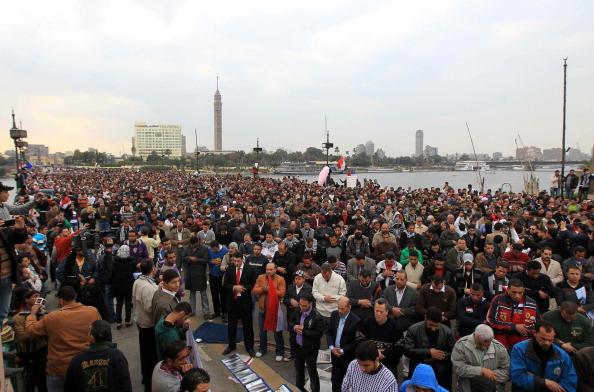 Демонстранти на півдні Єгипту загрожують затопити Луксор і Каїр
