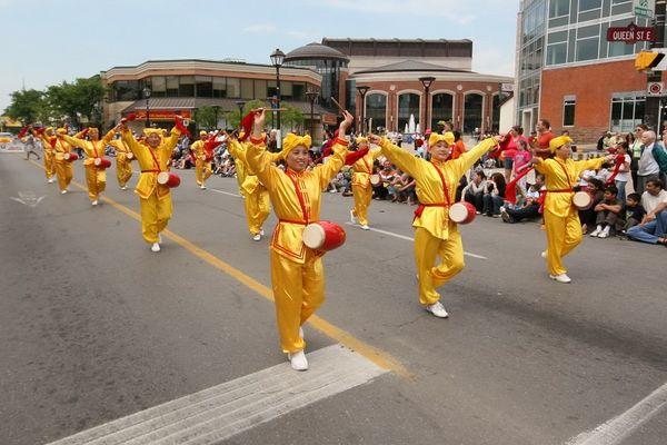 Творчий колектив «Лотос» і «Небесний оркестр» беруть участь у Highland Creek Heritage Festival, що пройшов у районі Скарборо м. Торонто. Фото: Дань Я/Тhe Epoch Times