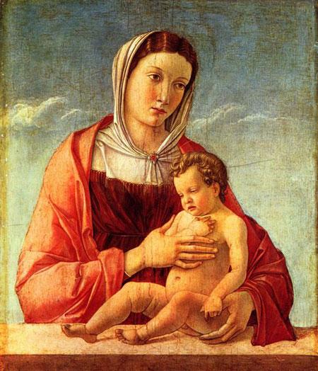 Джованні Белліні. Мадонна Фріццоні. Музей Коррер, Венеція, Італія