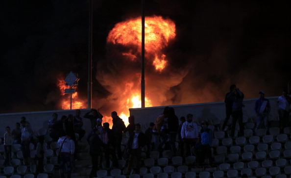 В Египте объявлен траур по 74 погибшим во время футбольного матча. Фото: AFP/Getty Images