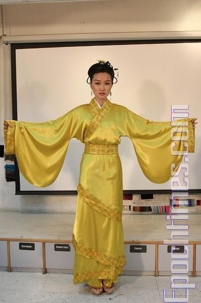Ханьфу - одяг стародавнього Китаю з духовним змістом. Фото: The Epoch Times