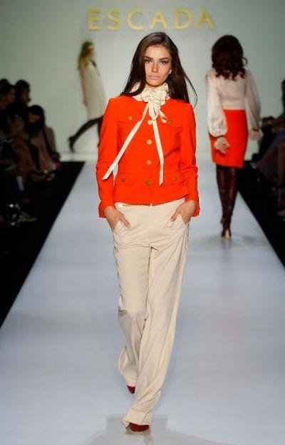 Жіноча колекція ESCADA на тижні моди MasterCard Luxury Week в Гонконзі. Фото:Lucas Dawson/Getty Images