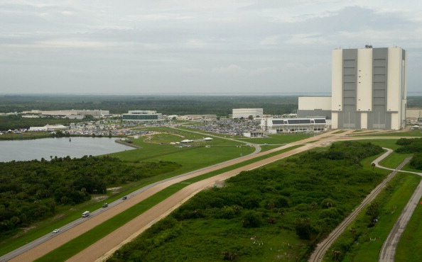 Астронавты отправляются на стартовую площадку 39А. Фото: Bill Ingalls/NASA via Getty Images