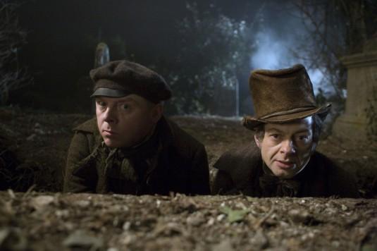 Кадр з фільму «Берк і Хейр»